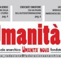 [Itália] 10.000 Euros para o Umanità Nova