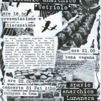"""[Itália] Apresentação do jornal anarquista """"Vetriolo"""" na Lunanera"""