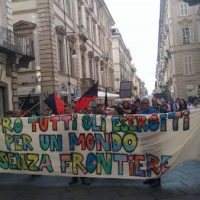 [Itália] Relato da manifestação antimilitarista em Turim