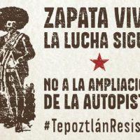 [México] Pela vida e pela terra: solidariedade com Tepoztlán
