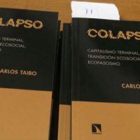"""[País Basco] Crônica da apresentação do livro """"Colapso"""" de Carlos Taibo"""