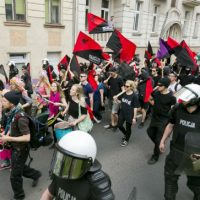 """[Polônia] Bydgoszcz: resenha da manifestação """"Diga NÃO ao Nacionalismo"""""""