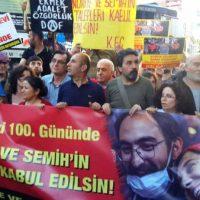 """[Turquia] Nuriye Gulmen está em estado crítico: """"Nem consegue segurar um lápis"""""""