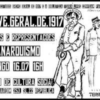 [São Paulo-SP] Oficina: Greve Geral de 1917: Imagens e Representações do Anarquismo