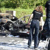 [Alemanha] Em Hamburgo, incêndio destrói 12 Porsches e prejuízo é estimado em mais de R$ 4 milhões