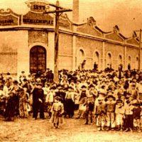 Até crianças cruzaram os braços na greve geral de 1917