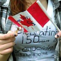 [Canadá] Kingston, Ontário: Marcha Contra o Dia do Canadá