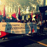[Chile] Relato do 1º de Maio em Santiago