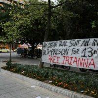 """[Grécia] Irianna em carta desde a prisão: """"Força e amor até o fim"""""""