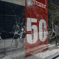 [Grécia] Vídeo: Ηpianna livre: Em Atenas, anarquistas destroem uma das mais caras ruas de compras da Europa