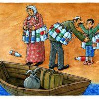 Mais de 101 mil migrantes e refugiados cruzaram o Mediterrâneo desde janeiro