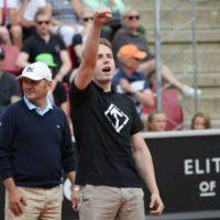 [Suécia] Em Estocolmo, homem invade quadra e faz saudação nazista em semifinal de tênis