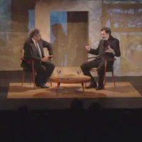 """Vídeo: Entrevista fictícia com Edgar Leuenroth no programa """"Retrovisor"""""""