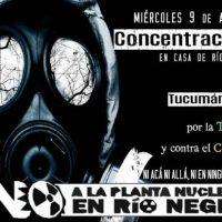 [Argentina] Convocatória em Buenos Aires: Não à Planta Nuclear na Patagônia