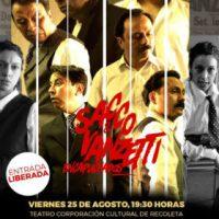 "[Chile] Teatro: ""Sacco y Vanzetti Encapuchados"""