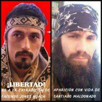 Devolvam Santiago Maldonado com vida! Liberdade ao lutador mapuche Facundo Jones Huala!