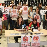[Espanha] Liberdade para a oposição ao G-20, encarcerada na Alemanha