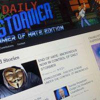 [EUA] Hackers do Anonymous invadem site neonazista e publicam mensagem contra ódio