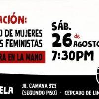 [Peru] Lima: Apresentação da Compilação de Mulheres Anarquistas Feministas