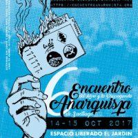 [Chile] 6º Encontro do Livro e da Propaganda Anarquista de Santiago, 4 e 15 de outubro