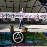 [El Salvador] San Salvador: Solidariedade com Santiago Maldonado!