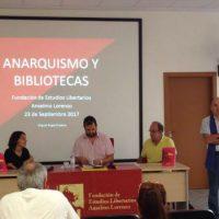 """[Espanha] Madrid: Inauguração da biblioteca da FAL e da exposição """"Estampas da Revolução Espanhola"""""""