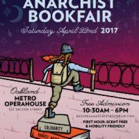 [EUA] 22ª Feira do Livro Anarquista de Bay Area acontece neste sábado