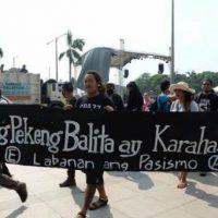 [Filipinas] Antiautoritarismo contra o fascismo – 21 de setembro, Luneta Park, Manila