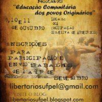II Jornada de Educação Libertária de Pelotas (RS)