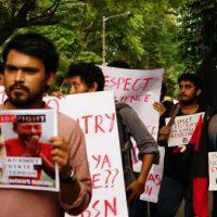 [Índia] Calcutá: anarquistas protestam contra o genocídio do povo rohingya