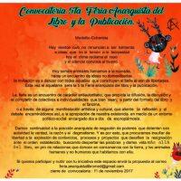 [Colômbia] Convocatória para a 5ª Feira Anarquista do Livro e da Publicação de Medellín