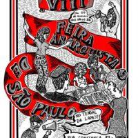 Em novembro acontece a VIII Feira Anarquista de São Paulo