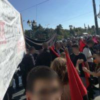 [Grécia] Combativa manifestação antifascista dissolve concentração racista no centro de Atenas
