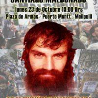 [Chile] Concentração em memória de Santiago Maldonado