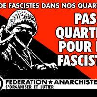 [França] Chambéry: ataque fascista contra evento anarquista
