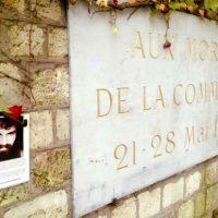 [França] Homenagem a Santiago Maldonado no Muro dos Federados