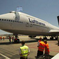 [Grécia] Lufthansa continua a demitir enquanto seus lucros aumentam