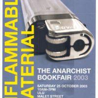 [Memória] Um relato da 23º Feira Anarquista de Livros de Londres