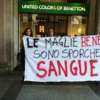 Na Itália convocam a não comprar nas lojas Benetton por Maldonado