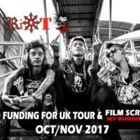 Turnê pelo Reino Unido da The Rebel Riot + Projeção de filme