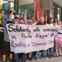 """[Austrália] Sydney: """"Solidariedade com os anarquistas em Porto Alegre. Contra a Operação Érebo"""""""