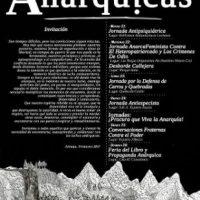 [Chile] Convite Jornadas Anárquicas Valpo 2017