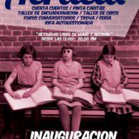 """[Chile] Inauguração da Biblioteca """"Acracia"""" acontece no dia 9 de dezembro, em Santiago"""
