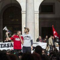 [Espanha] Centenas de pessoas se manifestam pelo aniversário do 14N