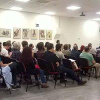 [Espanha] Debbie Bookchin ministrou uma palestra na FAL