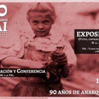 [Espanha] Madrid: Exposição 90º aniversário da Federação Anarquista Ibérica, 16 a 23 de dezembro de 2017