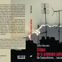 """[França] Lançamento: """"Crítica da gramática política. Do anarquismo... ainda"""", de Salvo Vaccaro"""