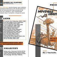 [França] Lyon: Novembro Libertário