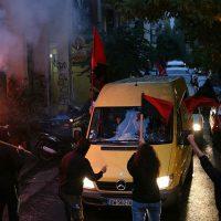 [Grécia] Caravana anarquista solidária internacionalista já chegou à Exarchia, em Atenas