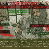 [México] Ato pela liberdade de Mumia Abu-Jamal